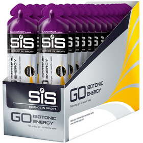 SiS GO Isotonic Energy Gel Caja 30x60ml, Blackcurrant
